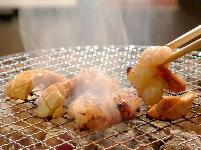 少し焦げたくらいが食べごろです。焼きすぎにご注意下さい。