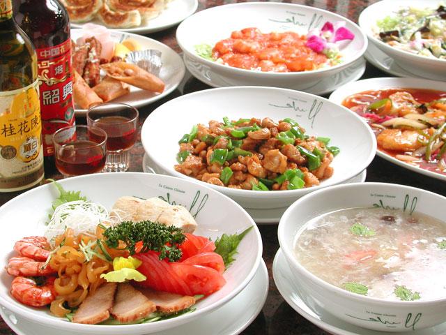 高級食材を用いた中国料理が気軽に味わえます。