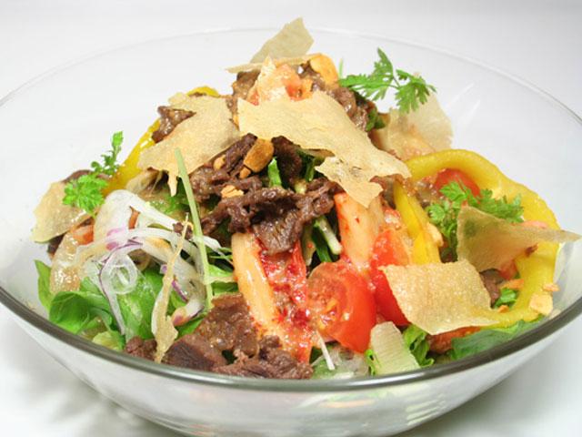 牛丸サラダ