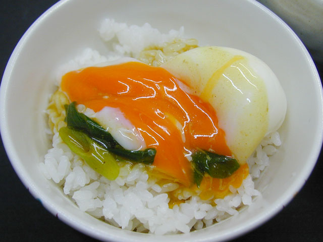 トロ玉ご飯