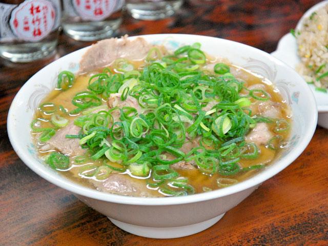 チャーシュー麺 580円