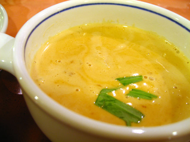 マッシュルームときのこのスープ