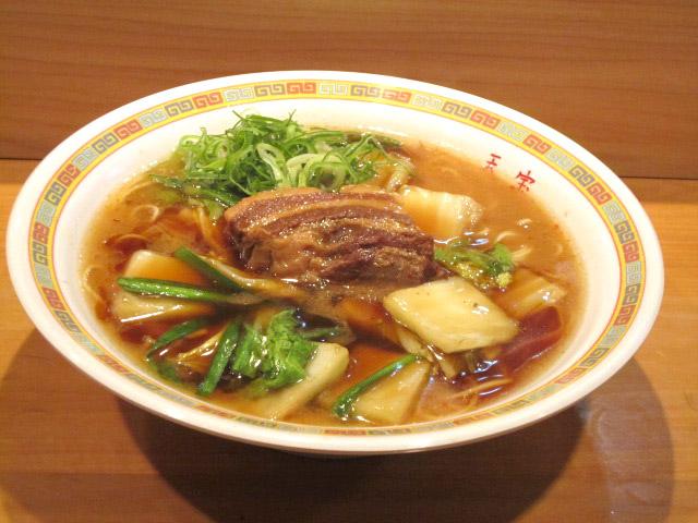 角煮ラーメン 730円